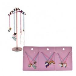Unicorn Rainbow Charm Necklaces