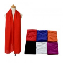 Solid Colors Summer Scarf