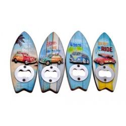 Surf Board Bottle Opener Magnets