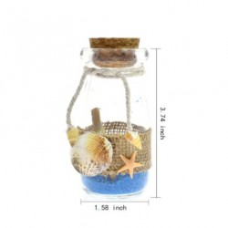 Message In A Bottle Wrapped With Hemp & Sea Shells
