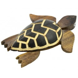 Large Turtle Burn Magnet