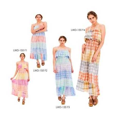 Tye Dye Long Dress