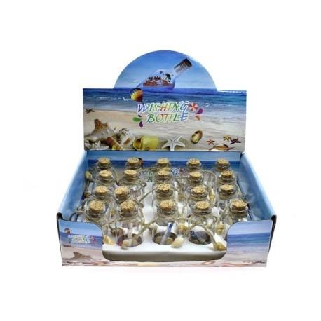 Beach Bottles With Sea Shells
