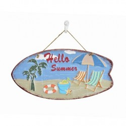 """""""Hello Summer"""" Surfboard Display"""