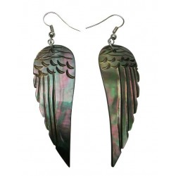 M.O.P Shell Earring-Wings