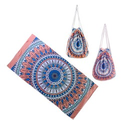 Drawstring Beach Bag