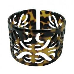 Carved Turtle  Shell Bracelet
