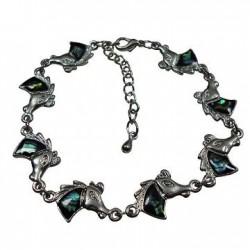 Horse Head Paua Shell Bracelet & Anklet