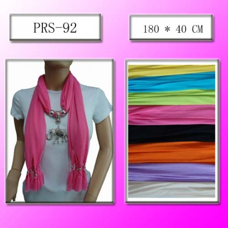 Elephant Pendant Fashion Scarf