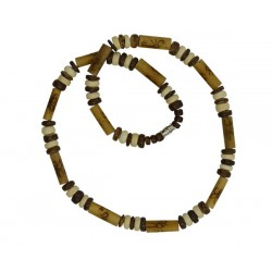 Coconut With Bamboo Necklace