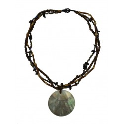 Mop Shell Necklace