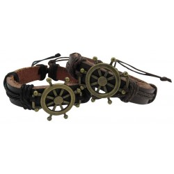 Sail Wheel Pendant Bracelet