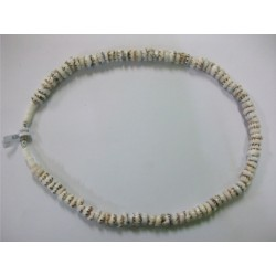 "20"" Tiger Puka Shell Necklace"