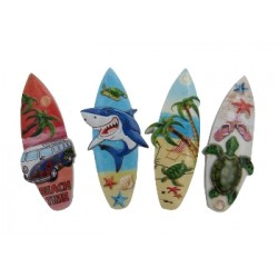 Ceramic Surf Board Magnet